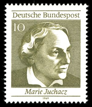 Marie Juchacz (Quelle: gemeinfrei, https://commons.wikimedia.org/w/index.php?curid=3422791)