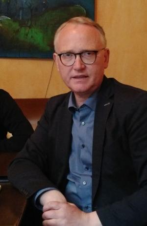 Klaus Mindrup, MdB zu Gast bei der SPD Helmholtzplatz
